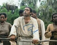 CHIWETEL EJIOFOR signed (12 YEARS A SLAVE) Movie 8X10 photo *Solomon* W/COA #2