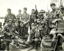 VIETNAM WAR PHOTO US NAVY SEAL TEAM ONE FIRST SEALS IN VIETNAM 1963 8x10 #22103