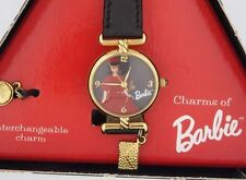 Barbie Character Watch 1962 Red Flare Doll w/ Charms in Original Triangle Box b1