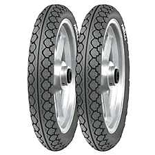Coppia gomme pneumatici Pirelli MT 15 Mandrake 90/80-16 51J 110/80-14 59J