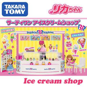 2021 TAKARATOMY JAPAN Licca Baskin Robbins ICE CREAM SHOP Thirty One 3+