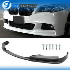 For 11-16 BMW F10 5 Series 530i 535i 3D Style Front Bumper Lip Spoiler PU