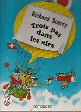 Trois pas dans les airs Richard Scarry 1978