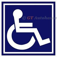 """1x Wall Door Car Van Vehicle Window Truck etc. Handicap Logo Sticker 5""""x5"""""""