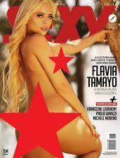 SEXY MAGAZINE BRAZIL # 466 - FLAVIA TAMAYO - OCT 2018 -  playboy HOT - MINT