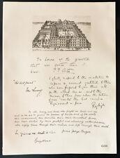 1926 - Lithographie Major John Astor, Sir John Lavery, Ray-leigh, James Frazer
