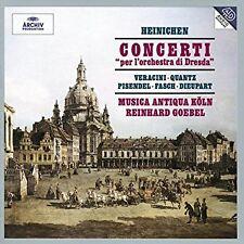 """LN= Concerti """"per l'orchestra di Dresda"""" Heinichen Reinhard Goebel"""