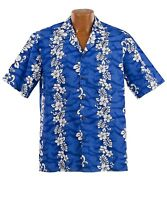 Big and Tall Flowers in Paradise Hawaiian Aloha Shirt