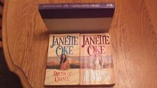 Lot of 3 Janette Oke books A Searching Heart, Drums of Change & Called Mrs. Doc