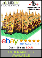 21 Minifigures Aztec Warrior Army Military - LE GO Compatible