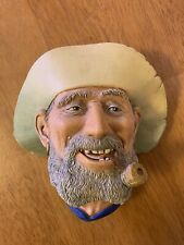 """Vintage Bossons """"Old Timer"""" Chalkware Head"""