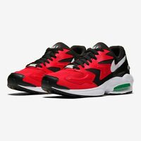 "NIKE Air Max 2 Light ""BRED"" Black/Red/White #AO1741 003 $140 SHIPS DOUBLE BOXED"