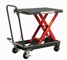 Pake Handling Tools - Hydraulic Manual Scissor Lift Table, 1000lbs