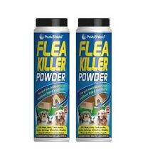 2 x 200G FLEA KILLER POWDER COCKROACHES BEETLES EARWIGS WOODLICE WASPS INSECTS
