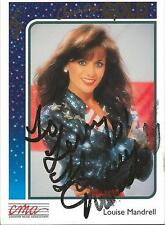 Louise Mandrell 1992 Sterling Country Gold Autograph #82