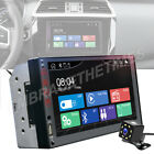 Fit Dodge Ram 1500 2500 3500 7'' 2Din Car Stereo MP5 Radio Mirror Link For GPS