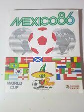 Album Panini Mexico 86 Complet