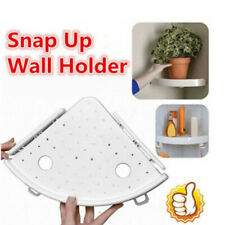 Bathroom Triangular Shower Shelf Corner Bath Storage Holder Organizer Rack ~