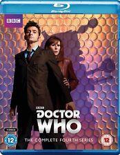 DR WHO 2008 Series 4+2007 CHRISTMAS Doctor David TENNANT + Donna Season BLU-RAY