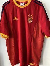 Adidas Spain 2002 World Cup Soccer Jersey Football Shirt España Size 58 / Xl