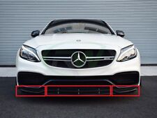 Nuovo Originale Mercedes-Benz C-Class W205 AMG Set Anteriore Inferiore Bordo