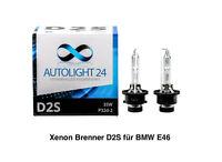 2 x Xenon Brenner D2S für BMW 3er E46 Limo Touring Lampen Birnen E-Zulassung