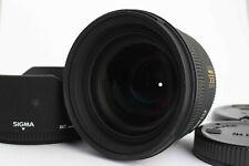 [Near Mint]  SIGMA AF 50mm f/1.4 EX DG HSM w/Lens Hood from Japan #110*