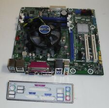 Intel DB75EN microATX LGA1155 Desktop Motherboard Quad Core i5-3450 CPU Heatsink