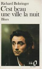 Richard Bohringer C'est Beau Une Ville La Nuit Blues Fr Bestseller 1988 Bio/Fict