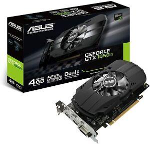 Asus Video Card GeForce GTX 1050Ti 4GB PHOENIX PH-GTX1050TI-4G
