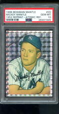1996 Bowman #20 1952 ATOMIC REFRACTOR Mickey Mantle Insert PSA 10 Graded Card