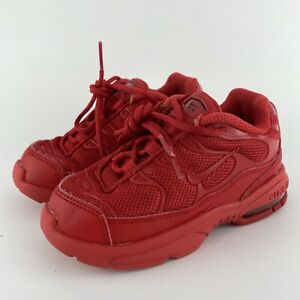 Nike Little Air Max Plus (TD) 'University Red' CQ9754-600 Size 9C