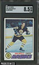 1977-78 Topps Blank Back #40 Jean Ratelle Bruins HOF SGC 8.5 RARE