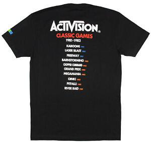 Activision Men's Video Game Publisher Logo T-shirt
