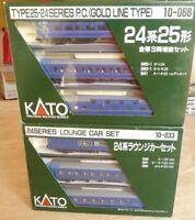 Kato 10-033 + Kato 10-068  Spur N JNR LTD Series 24 Type25-24 Reisezugwagen JR