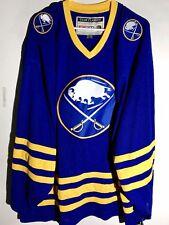 CCM Classic NHL Jersey Buffalo Sabres Team Blue sz 2X
