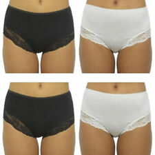 Briefs Cotton No Pattern Mid Knickers for Women