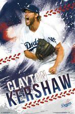 CLAYTON KERSHAW - LOS ANGELES DODGERS POSTER - 22x34 - MLB BASEBALL 17644