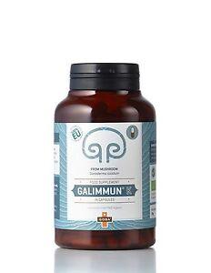 Galimmun® K Reishi Ganoderma lucidum Pilzpulverkapseln, BIO ORGANIC EU, 140 stk⭐