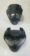 Jt Black Lot Of 2 Paintball Mask Face Cover Sports Eye Guard