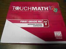 TouchMath 1 2 3 First Grade The Alphabet of Mathematics Kit 2, Tm1613