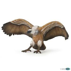 Papo Vulture Bird Figure Wildlife Toy Replica 50168 NEW