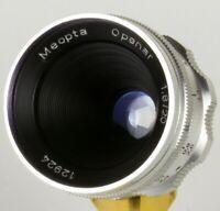Meopta Openar 20mm f/1.8 Lens M25 c-mount