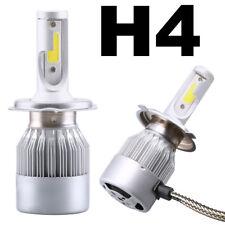 Kit 2x Luce LED lampada H4 lampadine fari auto car lampade moto 6000K 36W 3800LM