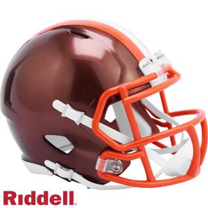 Cleveland Browns Flash Alternate Speed Mini Helmet Replica Riddell