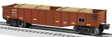 Lionel 6-26696 NJ Transit Gondola With Wood Ties O Gauge Model Trains Railroads