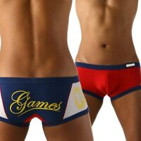 """Private Structure Underwear """"Games"""" (Low Rise) Men's Trunks -size L - NEW"""