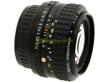Pentax SMC A 50mm. f1,4. innesto Pentax K. 50 mm f/1.4. Molto raro.