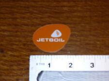 Jet Boil Small Logo Sticker Decal