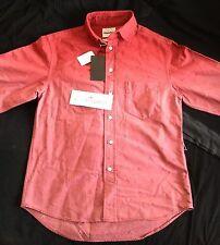 "ORIGINAL FAKE Red Shirt Size 2 M Medium Rare 2010 Release By ""KAWS"" Box Logo"